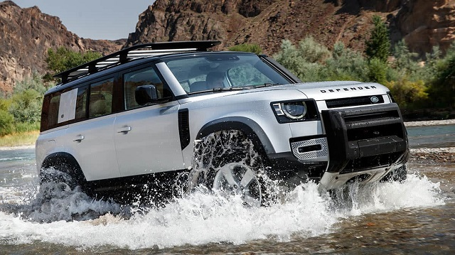 2021 Land Rover Defender off road