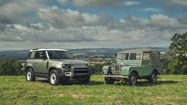 2021 Land Rover Defender two door