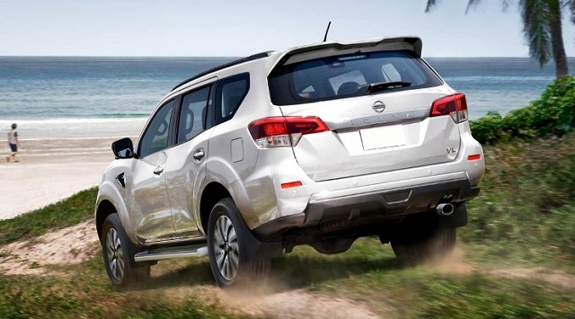 2021 Nissan Xterra off road