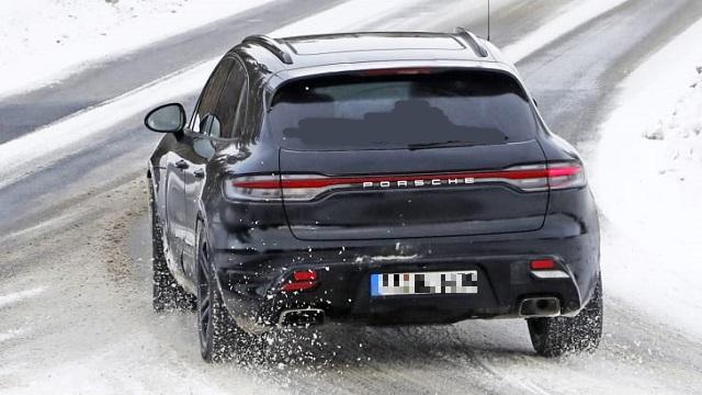 2021 Porsche Macan spied