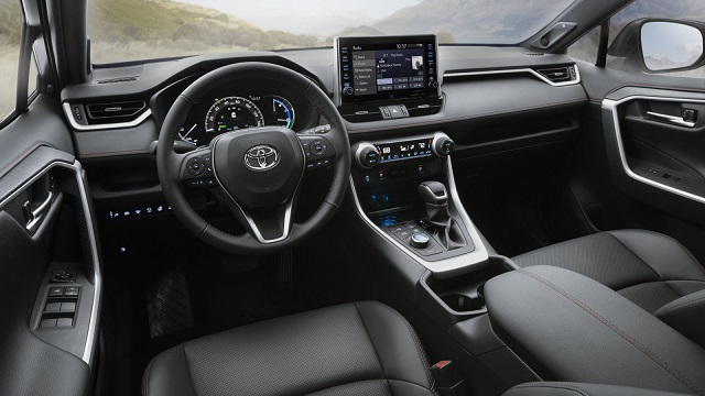 2021 Toyota RAV4 interior