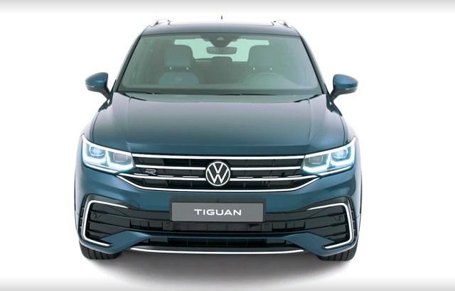 2021 VW Tiguan Changes