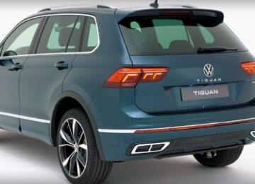 2021 VW Tiguan hybrid