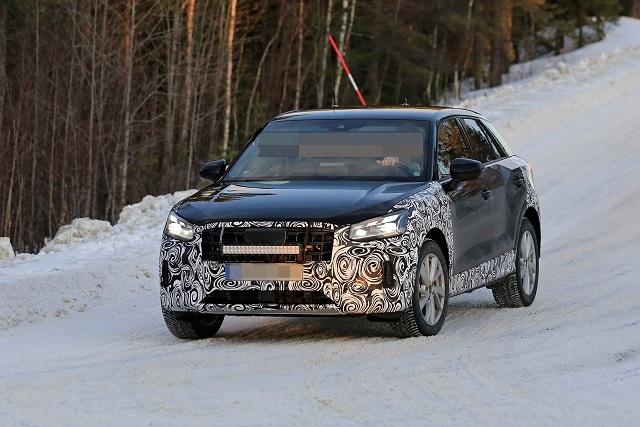 2021 Audi Q2 spy photos