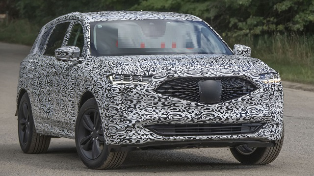 2022 Acura MDX spy photos