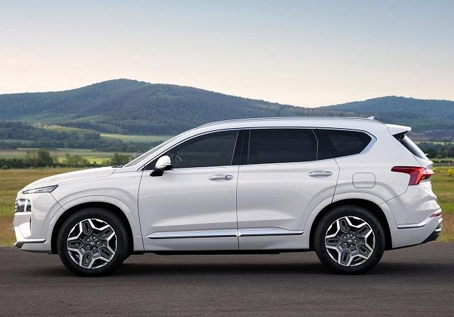 2022 Hyundai Santa Fe colors