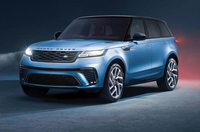 2022 Range Rover Sport prototype