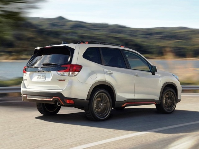 2022 Subaru Forester changes