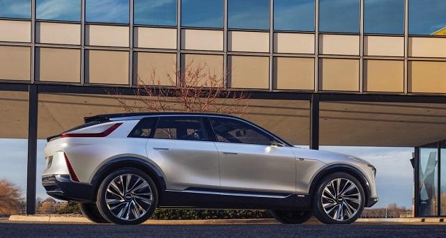 2022 Cadillac XT5 electric