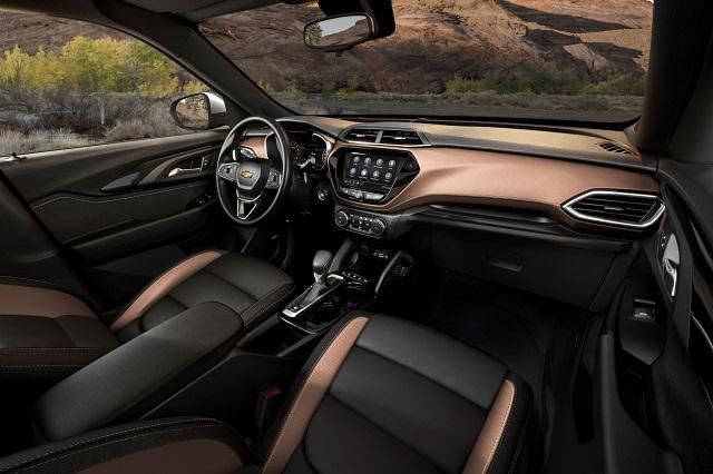 2022 Chevy Blazer interior