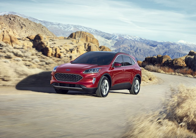 2022 Ford Escape facelift