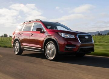 2022 Subaru Ascent facelift