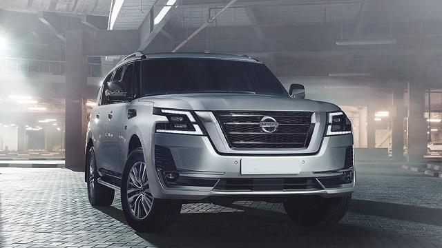 2022 Nissan Armada facelift