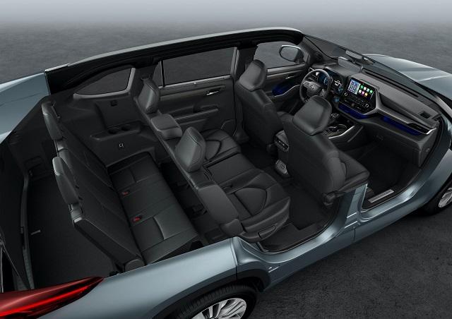 2022 Toyota Highlander Hybrid interior