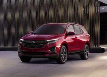 2022 Chevy Traverse redline
