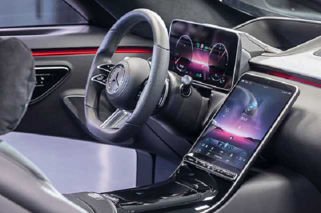 2022 Mercedes GLC Interior