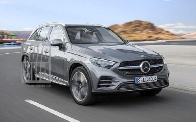 2022 Mercedes GLC concept