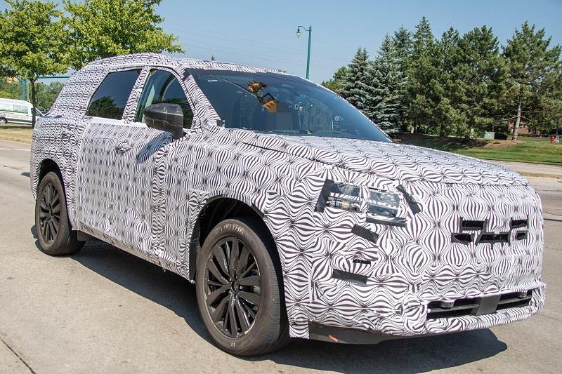 2022 Nissan Pathfinder transmission