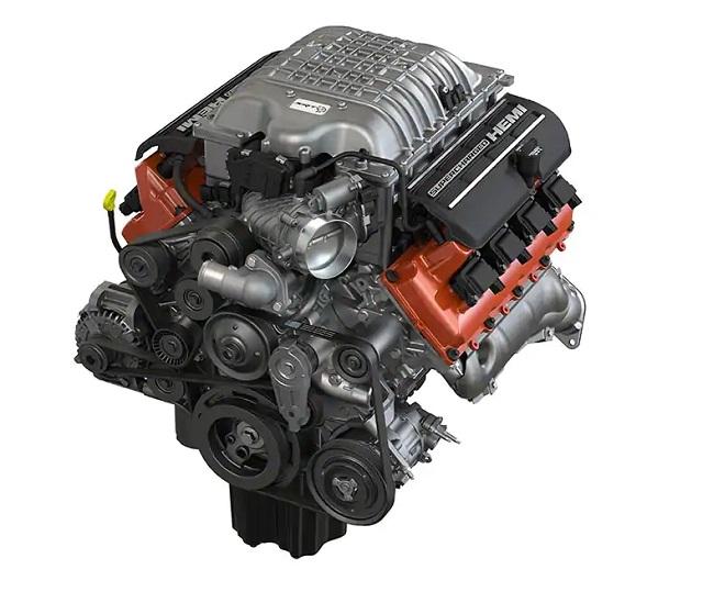 2022 Dodge Durango Hellcat engine