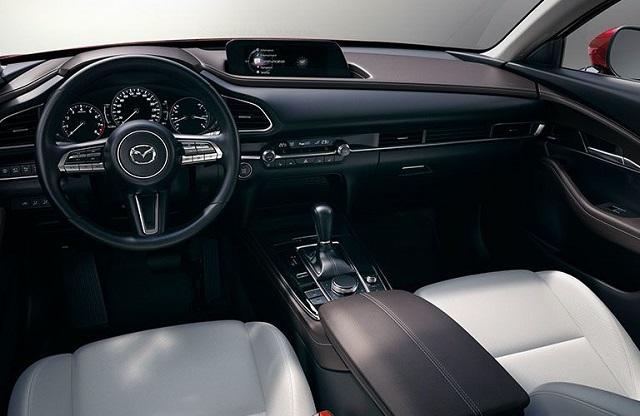 2022 Mazda CX-30 preferred interior