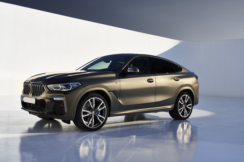 2022 BMW X6 changes