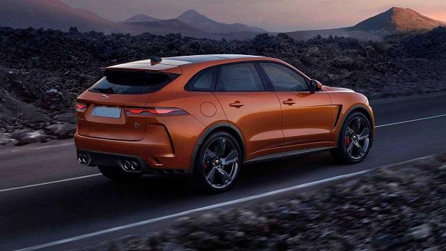 2022 Jaguar F-Pace redesign