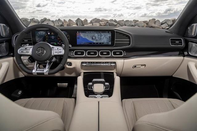 2022 Mercedes GLE interior