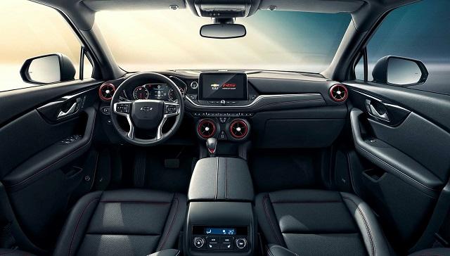 2022 Chevrolet Blazer interior
