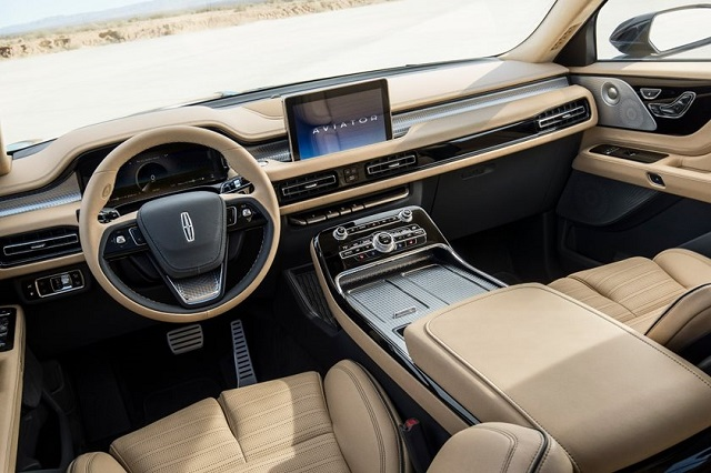 2022 Lincoln Aviator interior