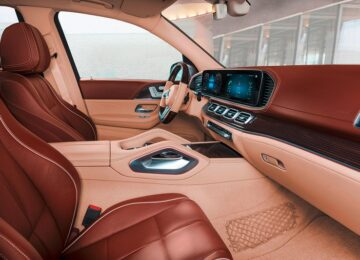 2022 Mercedes-Maybach GLS 600 interior