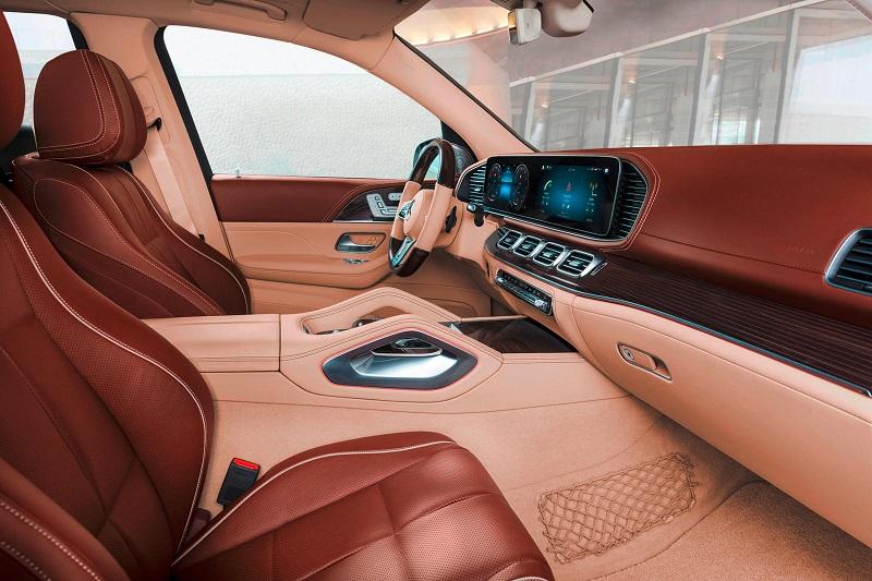 2022 Mercedes-Maybach GLS 600 interior