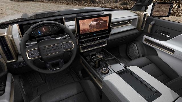 2022 GMC Hummer EV SUV interior