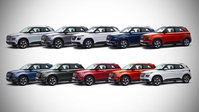 2022 Hyundai Venue colors