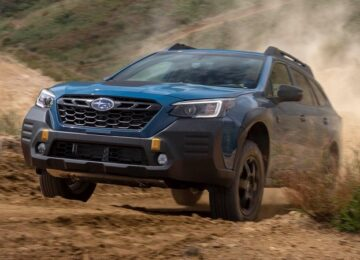 2022 Subaru Outback wilderness