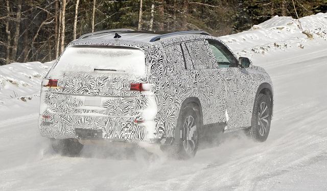 2022 Audi Q9 spy photos