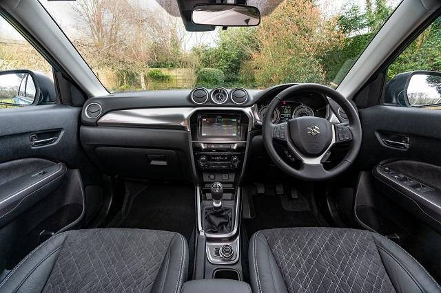 2022 Suzuki Grand Vitara interior