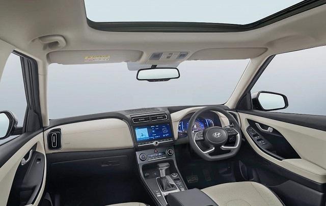 2022 Hyundai Creta interior