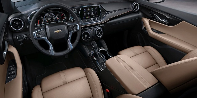2023 Chevy Blazer interior