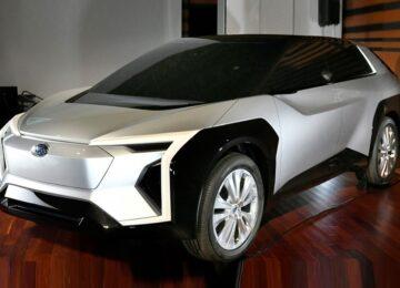 2023 Subaru Solterra concept