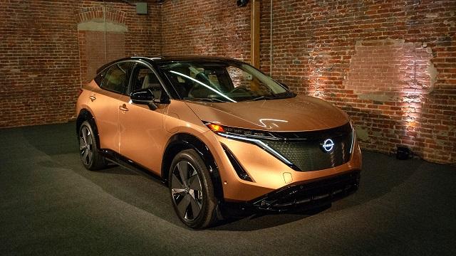 2023 Electric SUVs nissan ariya