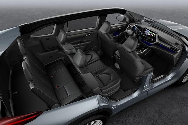 2023 Toyota Highlander interior