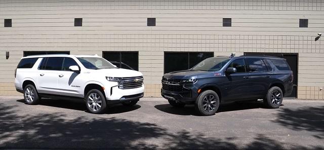 2023 Chevrolet Tahoe and Suburban
