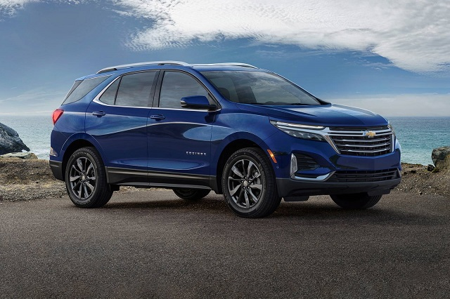 2023 Chevy Equinox changes