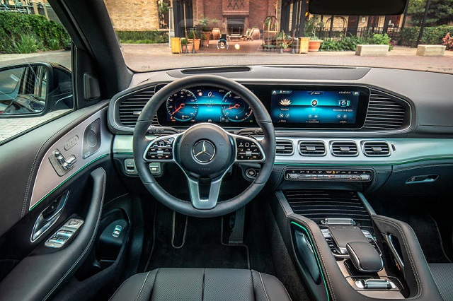 2023 Mercedes GLE 580 interior