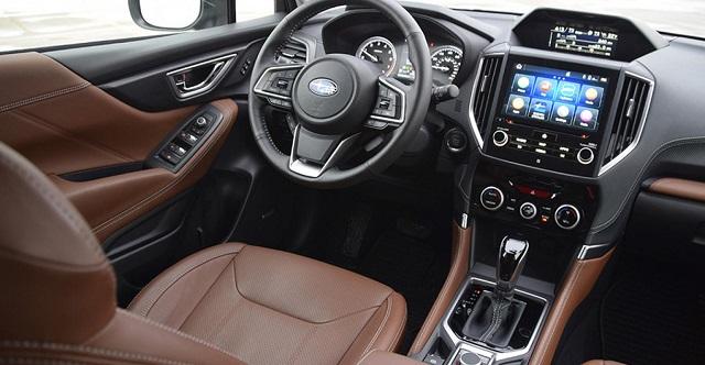 2023 Subaru Forester interior