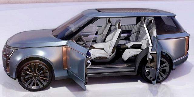 2023 Range Rover Sport svr