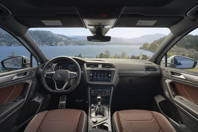 2023 VW Tiguan interior changes